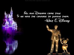 Walt Disney on Dreams