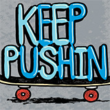 Keep Pushin by Ryan Bubnis