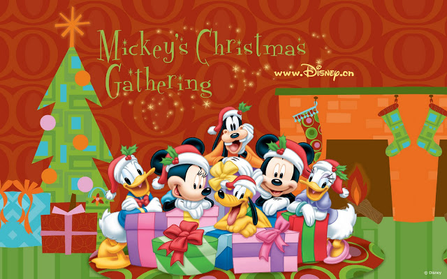 Merry Christmas Disney Courtesy www.colorearpintar.blogspot.com