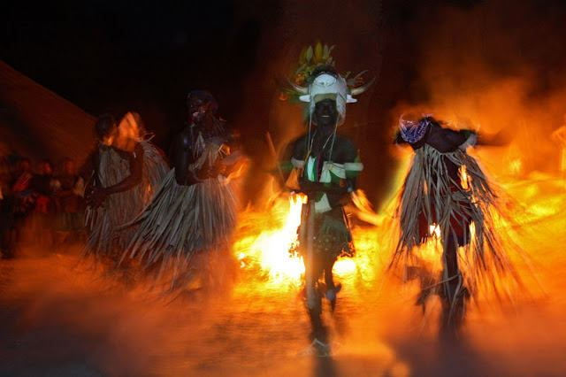 Traditional Bijago Fire Dance Pic. Courtesy: http://kwekudee-tripdownmemorylane.blogspot.com